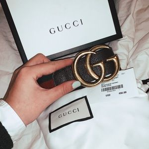 Authentic Current season Gucci belt with tags